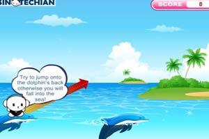 跳海豚游戏
