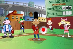 伙伴玩棒球