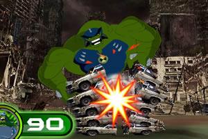 英雄绿怪兽
