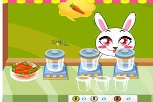 兔子胡萝卜汁店