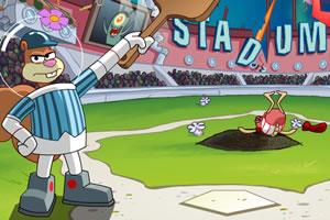 海绵宝宝打棒球