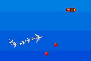 吃水果的飛機