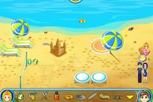 海滩休闲游乐场