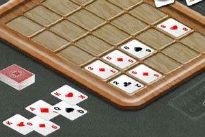 扑克接龙消除