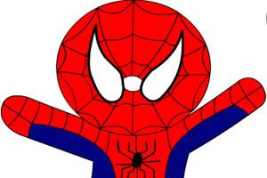 蜘蛛俠填色