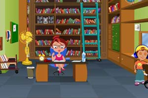 整蛊图书馆管理员