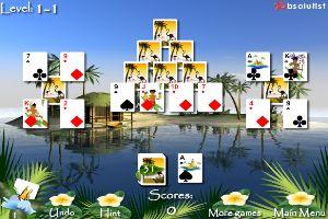 海滨扑克牌