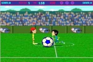 单人足球赛