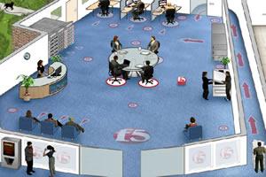 3D辦公室彈球