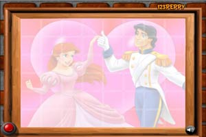 公主和王子爱情拼图