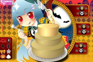 公主万圣节蛋糕