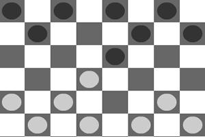 黑白跳棋双人版