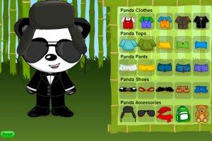 時尚小熊貓