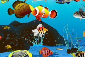 熱帶魚版大魚吃小魚