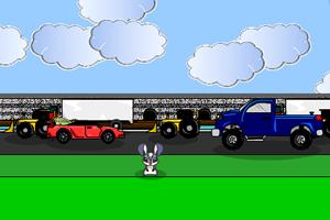兔子過馬路