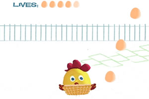 雞蛋先生接蛋