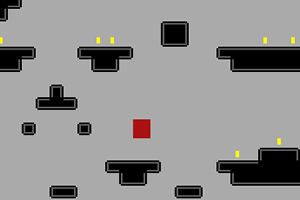 紅方塊收集金幣