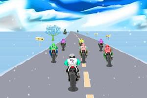 雪地摩托車賽