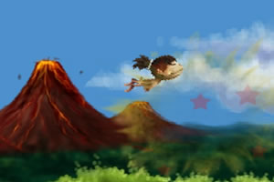 野人飛行記2