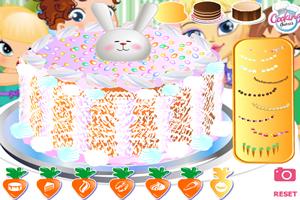 兔子胡蘿卜蛋糕