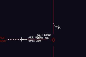 雷達飛機演示