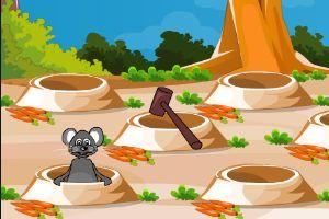 趕走偷蘿卜的老鼠
