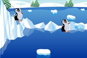 小企鵝過河