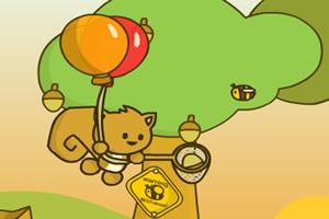 松鼠的氣球