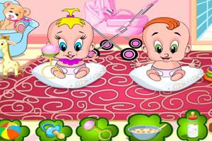 照顧雙胞胎