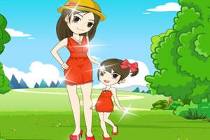 和媽媽去野餐