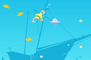 潛水拾珍珠