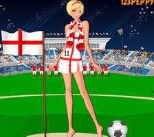英格蘭球迷的裝扮
