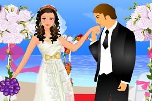海灘夏天婚禮