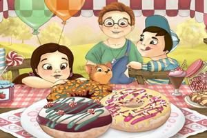 兒童甜甜圈