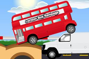 伦敦巴士横冲直撞
