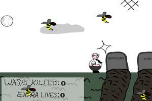 黄蜂的攻击