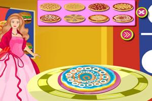 芭比糖果披萨