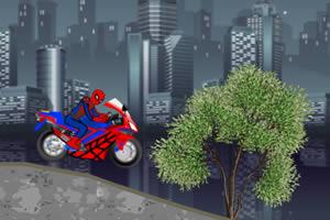 蜘蛛侠骑摩托