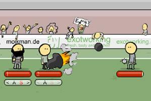 足球场上的战争