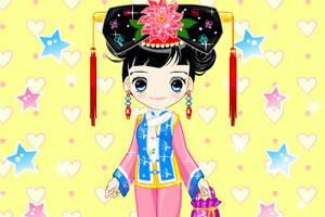 中國女孩換裝