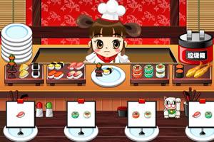 卖寿司的小女孩