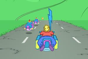 太空飞船竞速赛