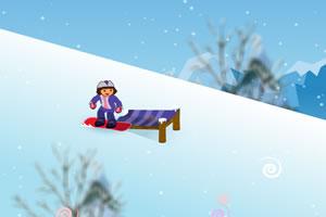 朵拉去滑雪