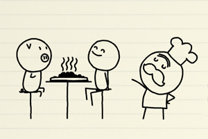 铅笔涂鸦创意动画27