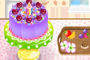 制作美味蛋糕