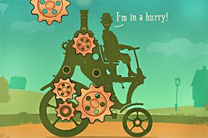 齿轮联动蒸汽车 Mechanic Tom