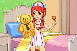 靓丽护士装