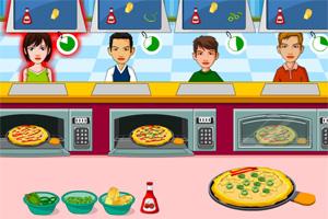人气披萨店