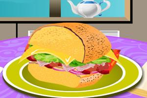 火鸡肉三明治