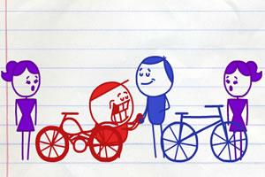 铅笔涂鸦创意动画30